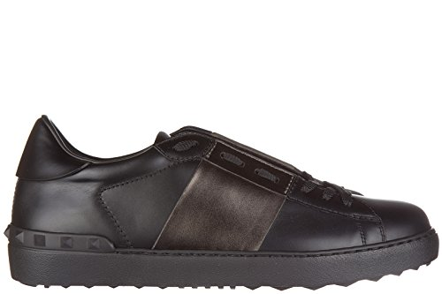 valentino-chaussures-baskets-sneakers-homme-en-cuir-noir-eu-43-ly2s0830-tlv-n07
