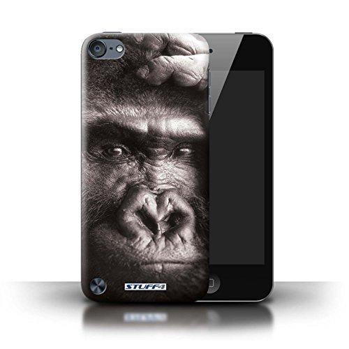 Stuff4 Hülle / Hülle für Apple iPod Touch 5 (5th Generation) / Gorilla / Affe Muster / Zoo-Tiere Kollektion