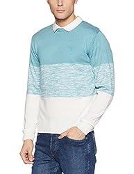 Lee Mens Sweater (8907649224670_L29003CB0J77XXL_Jsw-Still Water)