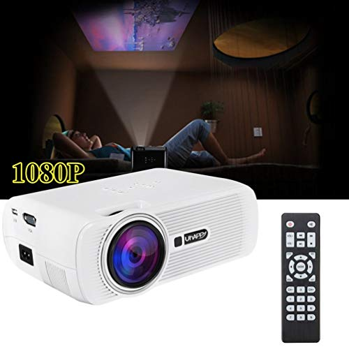 Portable Multi-media Mini Full HD 16 9 1000LM 1080P Android 6 0 Household LED Projector Home Theater Cinema for Smartphone