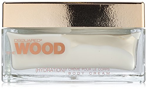 Dsquared She Wood femme / donna, crema corpo, 1er Pack (1 x 200 ml)