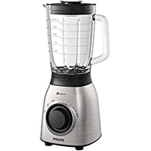 Philips Viva Collection hr3555/00 Standmixer 2L 700 W Schwarz, Transparent – Mixer (Standmixer, 2 l, Schwarz, Transparent, China, Kunststoff, Edelstahl)