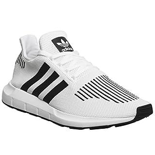 adidas Unisex-Erwachsene Swift Run Sneaker, Elfenbein (FTWR White/Core Black/Medium Grey Heather Cq2116), 43 1/3 EU
