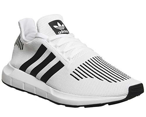 adidas Unisex-Erwachsene Swift Run Sneaker, Elfenbein (FTWR White/Core Black/Medium Grey Heather Cq2116), 43 1/3 EU