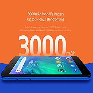 Wokee__ para Xiaomi Redmi Go Versión Global de 1GB + 8G - 425 Quad Core 16: 9 1280x720 Resolución 5.0 'Pantalla HD Pantalla 3000 mAh 8MP + 5MP Cámara