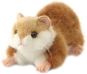 Hamster Crouching Plush Soft Toy 17cm
