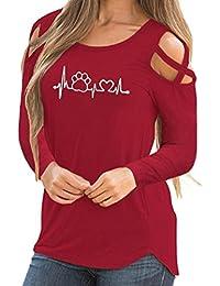 Mujer blusa tops otoño fiesta citas urbano streetwear,Sonnena T-Shirt Tops Blusas de