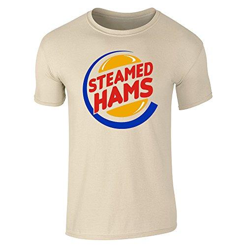 Pop Threads Herren T-Shirt Sand