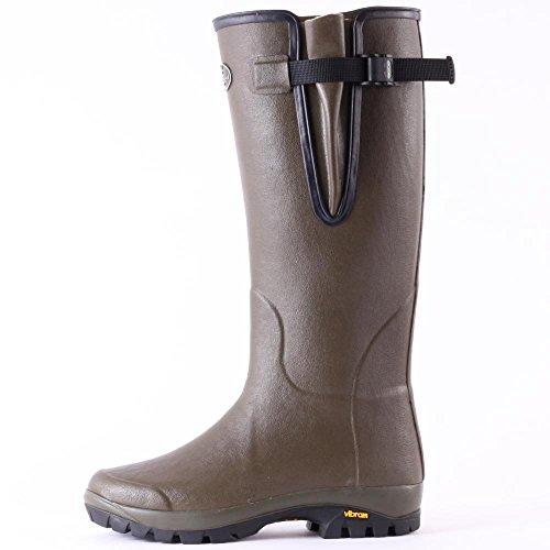 Le Chameau Vierzon Vibram Uomo Wellington Boots Vert