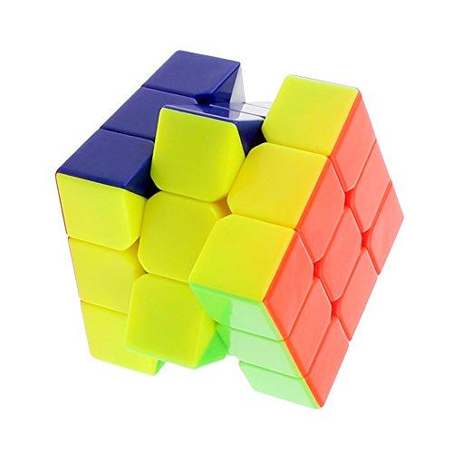 Zauberwürfel 3x3 - SsHhUu Neue Colorful Cyclone Boys 3x3x3 Stickerless Speed Cube Magic Cube Puzzle (Cyclone Boys 3x3x3)