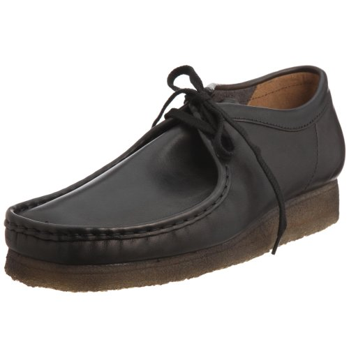 clarks-originals-wallabee-mens-smooth-leather-moccasins-black-12-uk