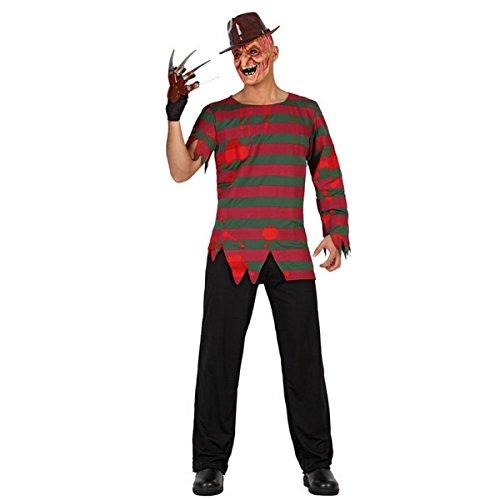 Imagen de mela proibita  disfraz para hombre freddy krueger halloween carnaval manzana prohibido horror fiesta party  multicolor, ml