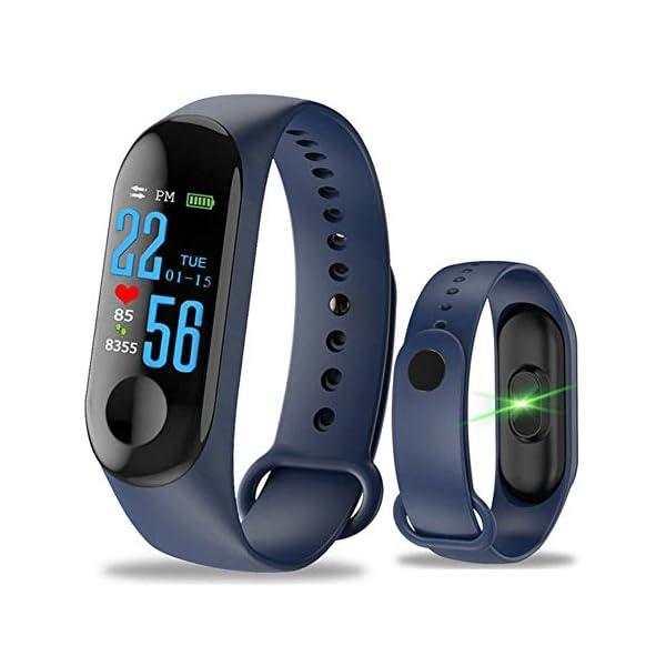 Monitor de actividad física, pantalla a color, monitor de presión arterial, frecuencia cardíaca, contador de pasos… 3