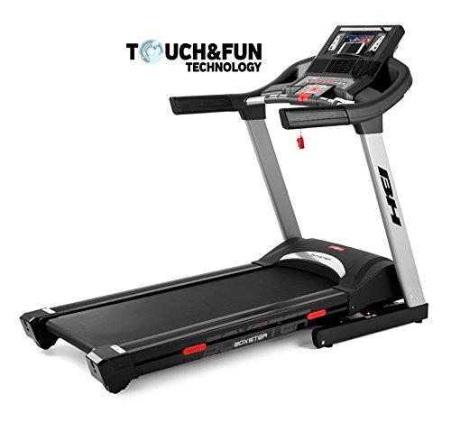 BH Fitness BOXSTER TFT 10004236 Cinta de correr electrica plegable - 20 Km/h - Superficie 140 x 51 cm - Inclinación electrica 12{f9bb92c5df210ce18e6ac492942e6b55a87e9e98130db213adf94fec4a3de6e2} max - Touch&Fun Technology - 8 AÑOS DE GARANTÍA