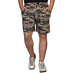 Clifton Men Army Shorts (AAA00010206-06_Walnut_X-Large)