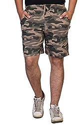 Clifton Army Shorts - Walnut