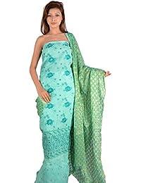 nAzAqAt Women's Cotton Dress Material