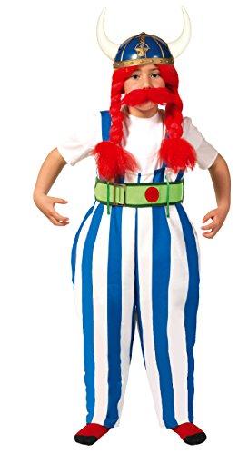aus Gallien Kostüm für Jungen Gr. 110-146, Größe:140/146 ()