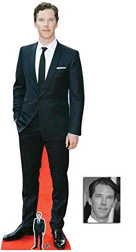 BundleZ-4-FanZ Benedict Cumberbatch Roter Teppich 2018 Lebensgrosse und klein Pappfiguren/Stehplatzinhaber/Aufsteller - Enthält 8X10 (25X20Cm) starfoto