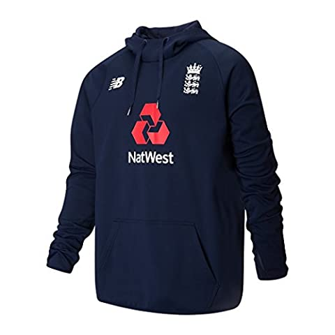 New Balance England Cricket Junior Travel Hoodie - Pigment - 10 Years