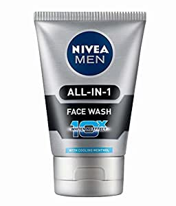 Nivea Men All-In-One Face Wash - 50 g (Pack of 2)