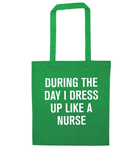 Durante il giorno i vestito come un infermiere Borsa Green