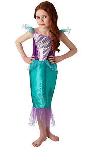 ney Princess Ariel Gem Kostüm, Mädchen, klein (Ariel Kleine Meerjungfrau Halloween-kostüm)