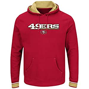 "San Francisco 49ers Majestic NFL ""Championship"" Men's Pullover Hooded Sweatshirt"