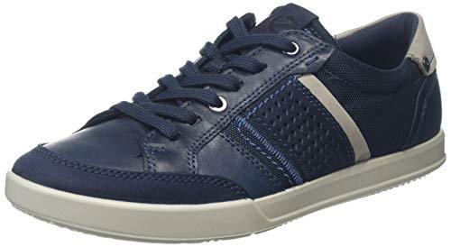 ECCO Herren Collin 2.0 Sneaker, Blau (Navy/Denim Blue 50881), 46 EU