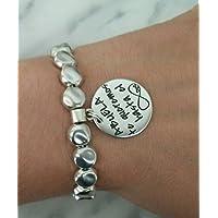 Pulsera abuela te queremos, regalos abuelas, pulseras abuelas.
