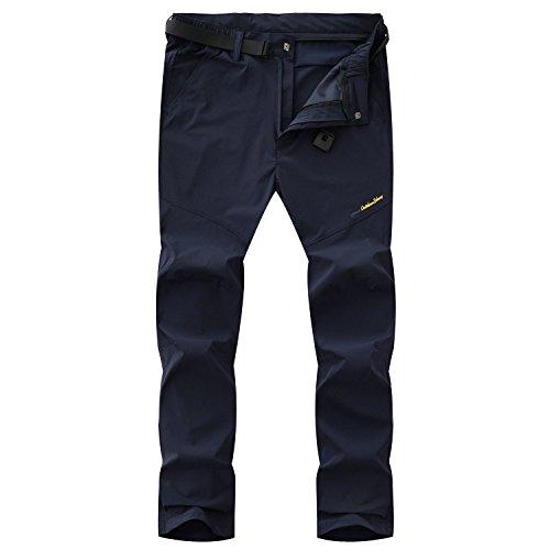 LHHMZ Hommes Pantalon de randonnée Ultralégère Mince Trek...