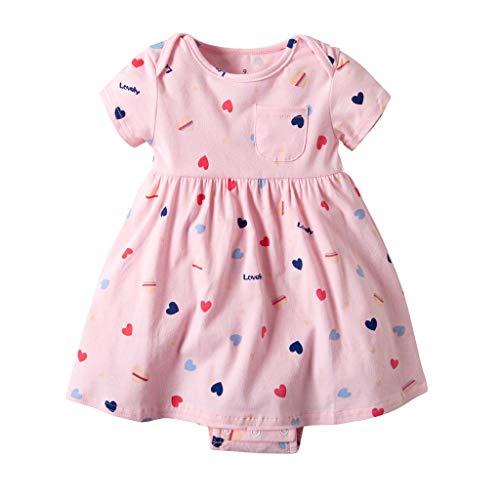 Homebaby neonate del bambino vestiti da pagliaccetto ragazza festa per bambini abiti da sposa abiti da principessa elegante estivo primavera regalo di compleanno
