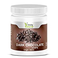 Pure Dark Chocolate Chips - 200 GM by Holy Natural
