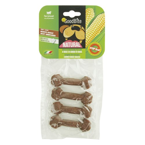 Ferplast Goodbite Natural Beef Bone Dog chewing Toy
