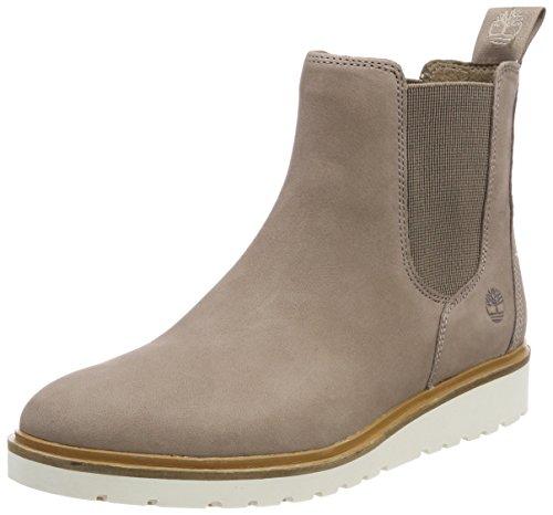 Timberland Damen Ellis Street Chukka Boots, Grau (Taupe Grey Nubuck 929), 37,5 EU