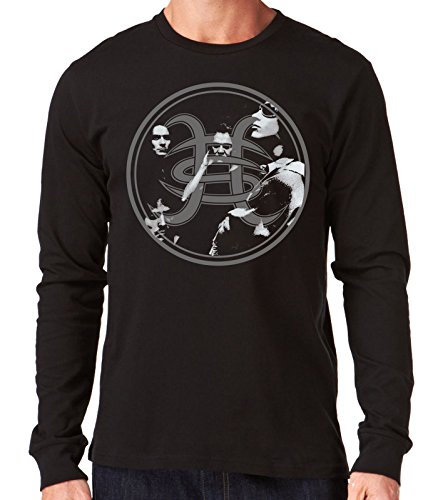 35mm - Camiseta Hombre Manga Larga - Heroes Del Silencio - Avalancha - Long Sleeve Man Shirt, NEGRA, L