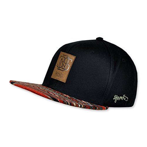 DJINNS - Aztec (black) - Snapback Cap