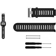 bemodst® Garmin Forerunner 910X T Ersatz Band, Silikon atmungsaktiv Armbanduhr Band mit entfernen Werkzeug für Forerunner 910X T