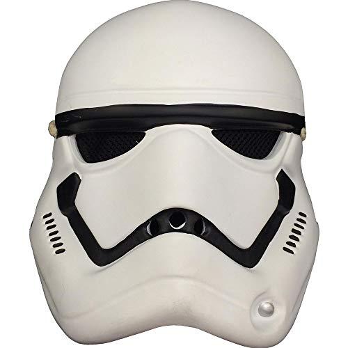 Halloween Adult Kostüm Ball Requisiten Harz Star Wars Maske Horror Schwarz Samurai Maske Weiß Soldat Maske