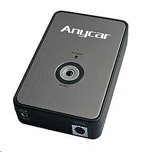 Anycar Adaptateur AUX iPod iPhone iPad pour VW Delta/Premium, R110, RCD200, Audi Chorus 2+/3, Concert 2+/3, Symphony 2+/3, Navigation Plus 3, RNS-E, BNS 5.0, Skoda Rhapsody