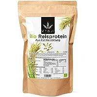 Bio Reisprotein aus EU-Herstellung - 1000g, geprüfte Qualität, schonende Verarbeitung, hoher Eiweißgehalt