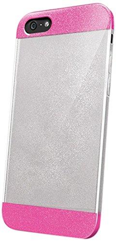 Celly GLAMme Glitter Handy TPU für iPhone 6Plus fuchsia