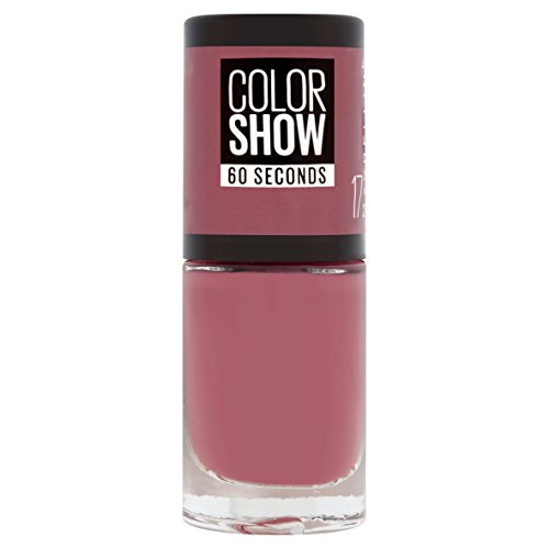 Maybelline New York Color Show Smalto Asciugatura Rapida, 17 Smoky Rose