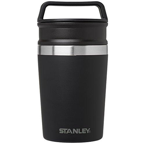 Stanley Adventure Vakuum Tasse, matt schwarz, 8OZ -