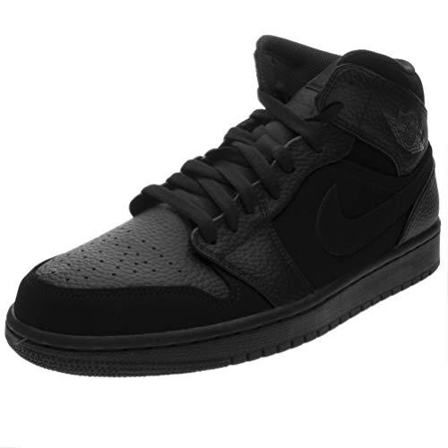 watch ce27a 34c4a Nike Air Jordan 1 Mid, Zapatillas de Deporte para Hombre, Dk Smoke Grey