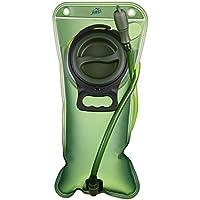 Bolsa de Agua Portátil de 2 Litro, HiHiLL Bolsa de Agua Deportiva para Usos en Espacios Exteriores Ciclismo Senderismo Excursionismo Camping