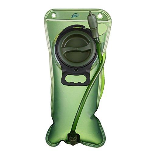 Trinkblase, 2L Wasserblase, Trinkbeutel ideal für Outdoor-Radfahren, Wandern, Laufen, Camping, Walking