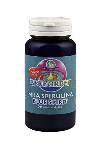 BLUEGREEN INKA SPIRULINA BLUE SPIRIT Presslinge 96g ca. 240 Stück