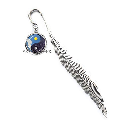 Yin Yang - Segnalibro Yin Yang - Yin Yang Jewelry - Gioielli spirituali - Segnalibro regalo - MT006