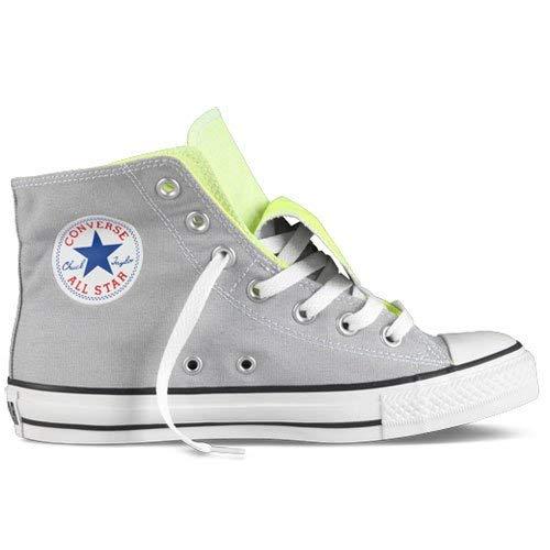 Converse All Stars Chuck Taylor Two Fold Hi Shoes - Mirage Grey - UK 3
